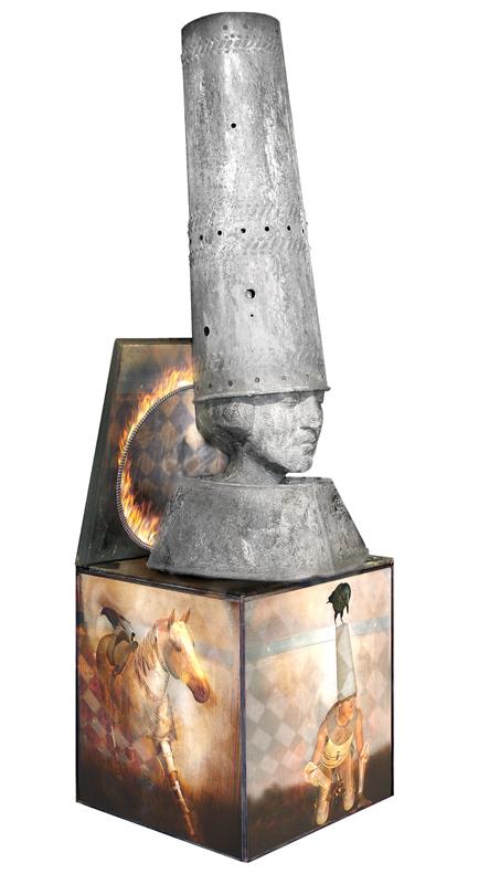 ©Sandra Filippucci Joan of Arc Narrative Boxes