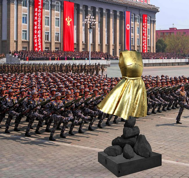 ARMOR DRESS PROJECT IN NORTH KOREA - Filippucci