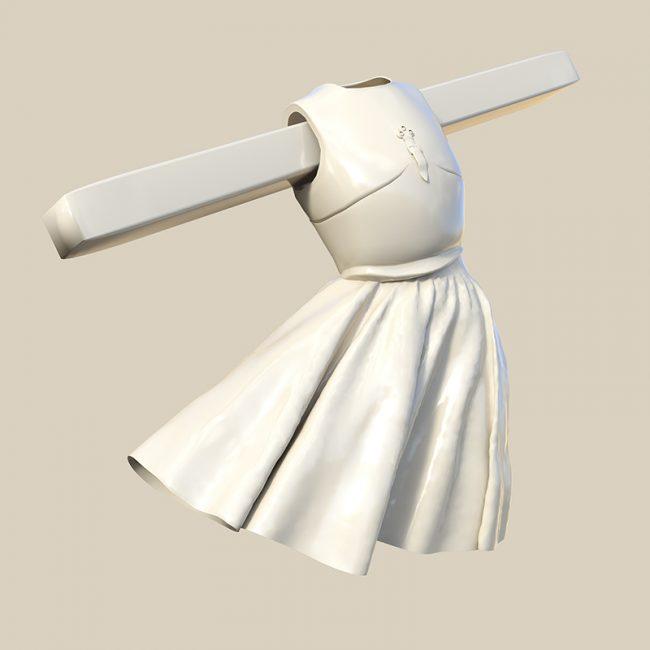 Ascension study for 3D sculpture. Sandra Filippucci