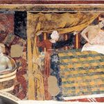 Memmo Di Filippucci (active 1303-1345) fresco painter.