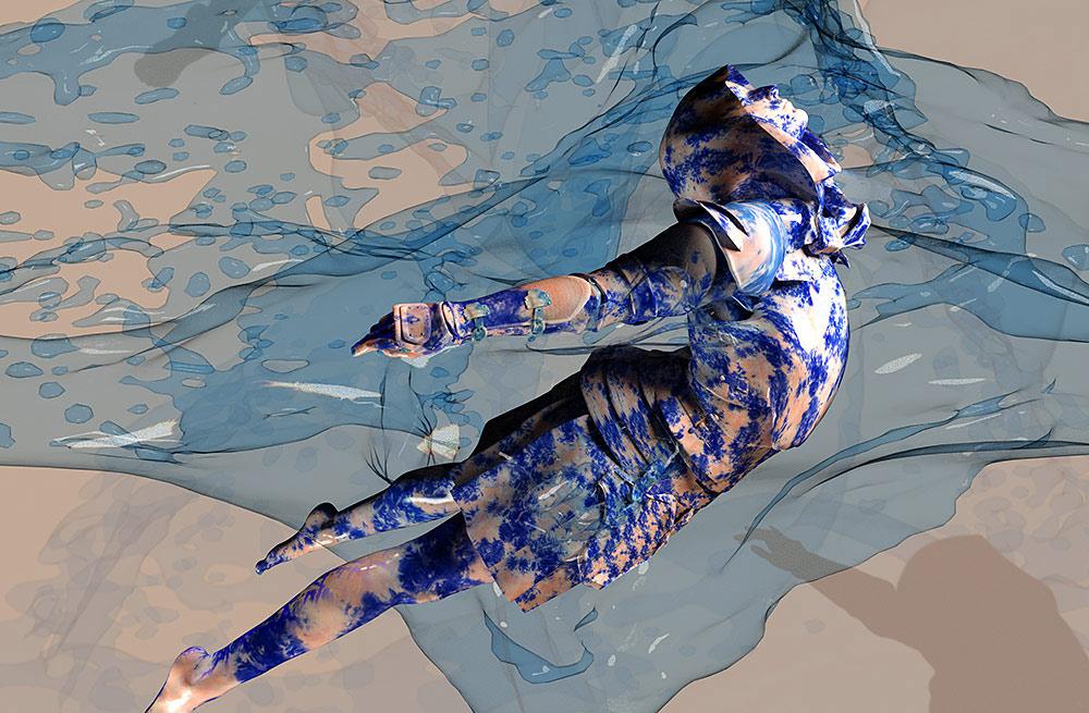 NFT Heaven is Water II ©Sandra Filippucci 2021